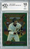 1993 topps finest baseball 103 barry bonds bccg 10