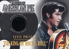 2001 topps american pie papm3 a piece of american pie elvis presley