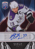 2009 10 upper deck be a player hockey s db dustin brown