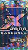 2009 upper deck x baseball retail pack