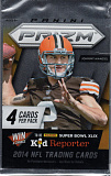 2014 panini prizm football retail pack