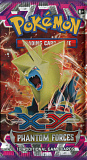2014 pokemon tcg xy phantom forces booster pack mega manectric