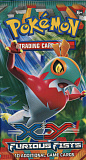 2014 pokemon trading card game x y furious fists booster pack