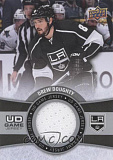 2015 16 upper deck hockey ud game jersey series 2 gj dd drew doughty