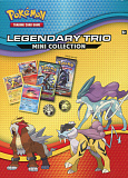 2018 pokemon tcg legendary trio mini collection