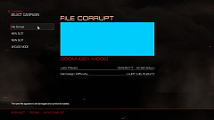 doom 2016 save file corrupt