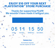 playstation store 10 dollar psvr voucher