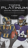 2013-topps-platinum-football-retail-pack